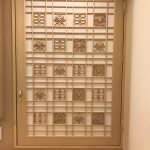 組子入り 装飾扉