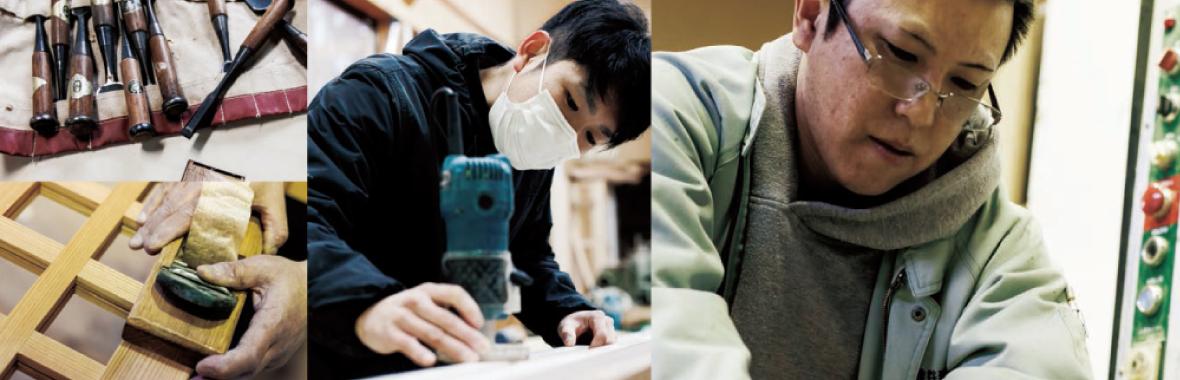 新潟市の建具職人|椎谷建具